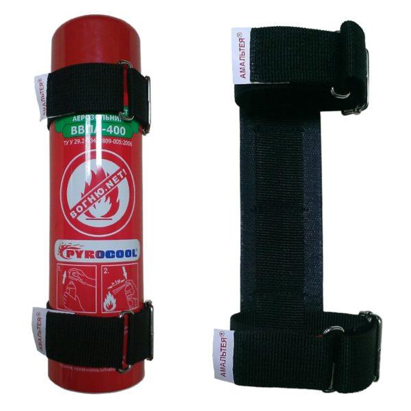 Кріплення автомобільне для вогнегасника ВВПА-400/450 Амальтея