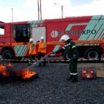 Що зможе загасити вогнегасник з об'ємом заряду вогнегасної речовини 400 мл?